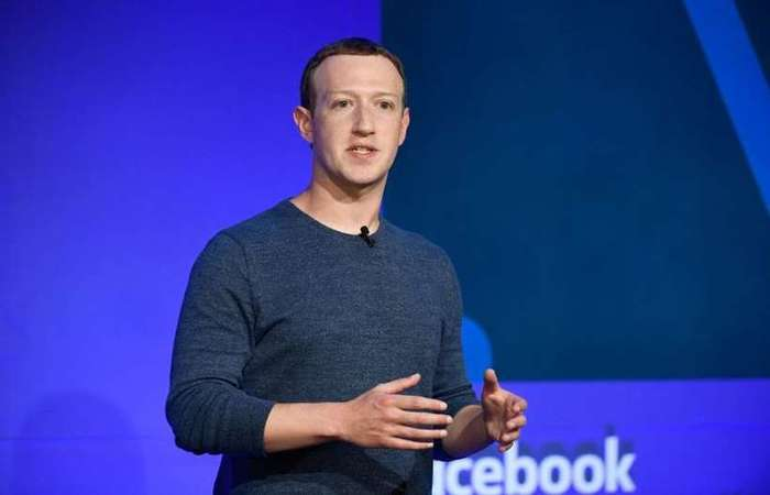 Mark Zuckerberg, fundador do Facebook (Bertrand Guay/AFP )