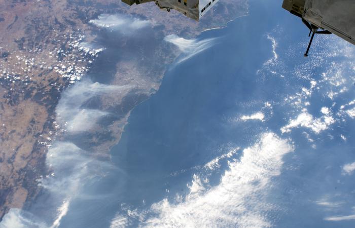 Região da Austrália vista de cima. (Foto: Handout/Nasa/AFP)