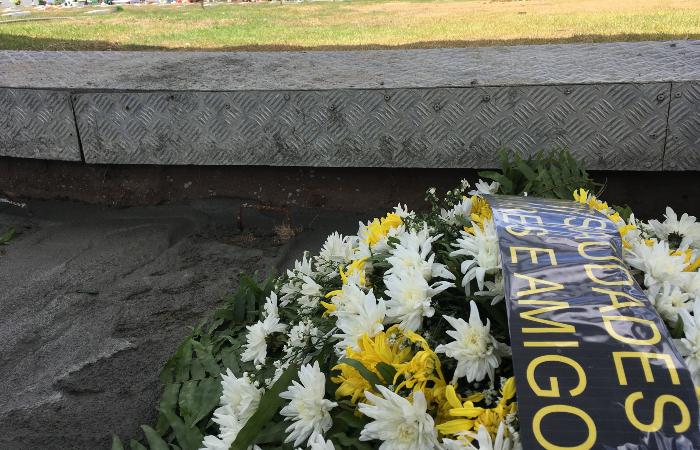 William da Silva foi sepultado nesta terça-feira (14), em um cemitério de Igarassu, na Região Metropolitana do Recife. (Foto: Diogo Cavalcante/DP.)