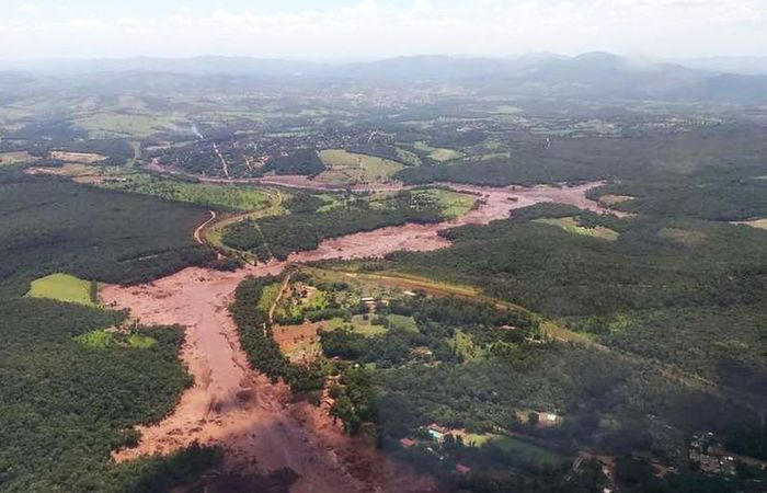 O número oficial de mortos da tragédia é de 255 e 15 pessoas ainda são dadas como desaparecidas (Foto: Divulgação/Corpo de Bombeiros de Minas Gerais)