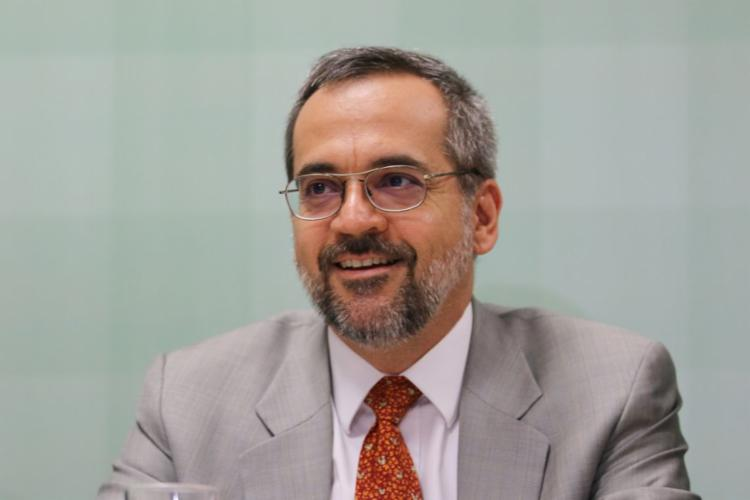O ministro Abraham Weintraub está no comando da pasta (Foto: Fabio Rodrigues Pozzebom/Agência Brasil)