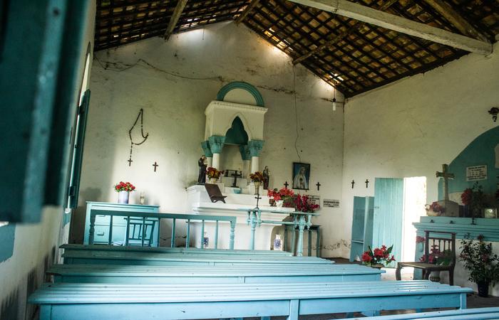 Capela em Escada.  (Foto: Samuel Calado/ Esp. DP )