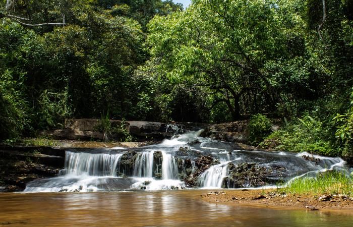 Cachoeira Rasga Sunga. (Foto: Samuel Calado/DP)