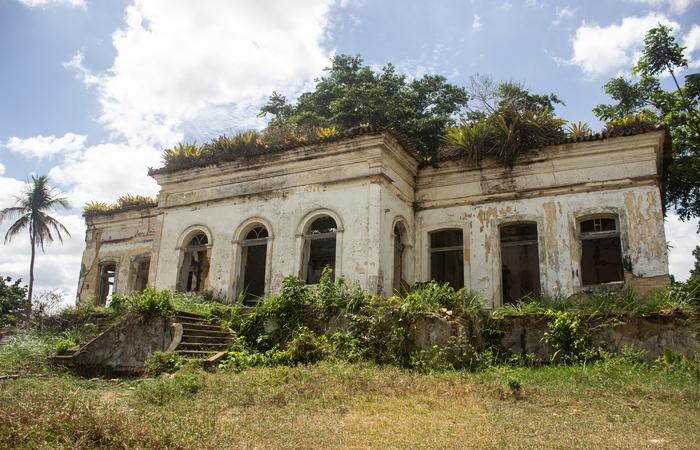 Casa Grande de Jundiá, em Escada.  (Foto: Samuel Calado/Esp.DP)