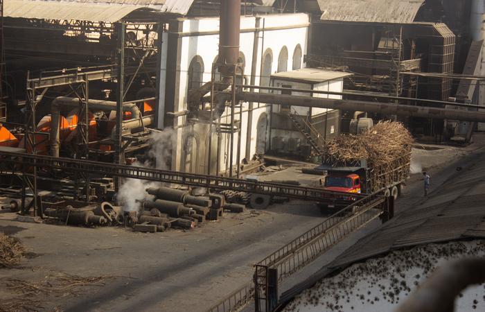Usina União Indústria.  (Foto: Samuel Calado/Esp.DP)