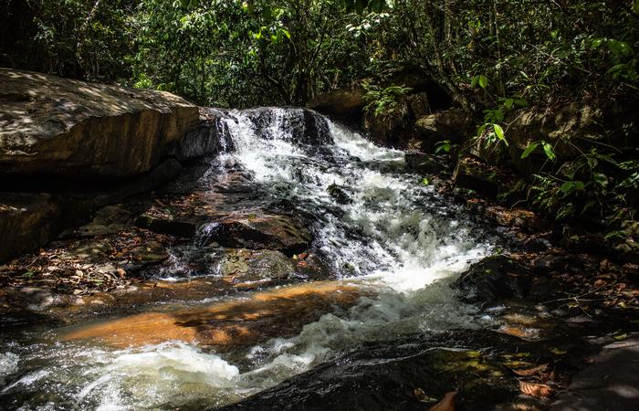 Cachoeira em Escada, Pernambuco. (Foto: Samuel Calado/Esp.DP)