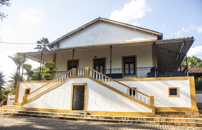 Casa Grande da Usina União Indústria, em Escada.  (Foto: Samuel Calado/Esp.DP)
