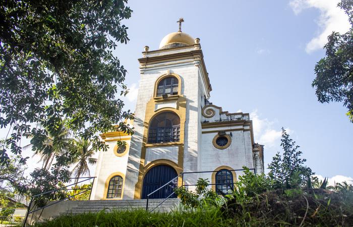 Capela da Usina União Indústria. Foto: Samuel Calado/Esp.DP (Esp.DP)