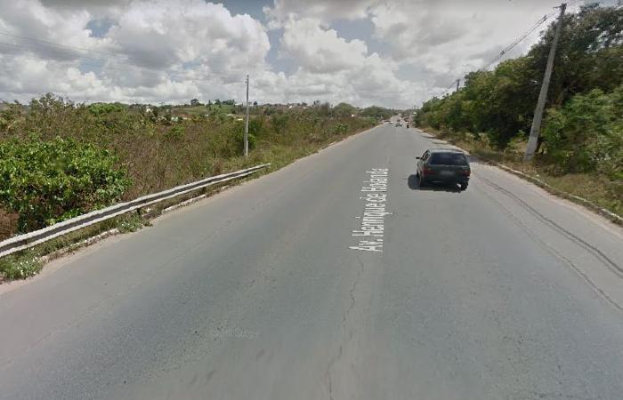 Crime aconteceu nessa quarta-feira (22). (Foto: Reprodução/Google Street View.)