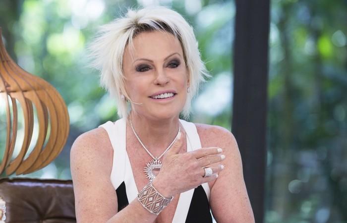 A apresentadora revelou nesta segunda-feira que está com câncer no pulmão (Foto: Reprodução/TV Globo)