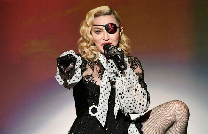 Madonna alega estar sentindo dores por causa de uma lesão (Foto: Divulgação da artista )