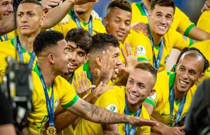Os bastidores da campanha da Seleção Brasileira que venceu a Copa América em 2019 são o tema de Tudo ou nada, série documental que a Amazon Prime Video lançada nessa sexta-feira (Foto: Amazon/Divulgação)