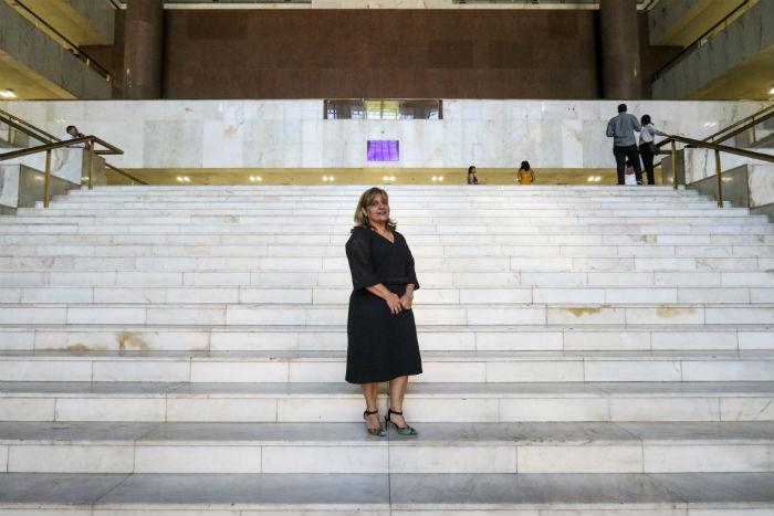 Paula Maria Malta vai gerir fórum que reúne 138 juízes e 2.132 servidores. (Foto: Tarciso Augusto/Esp.DP)