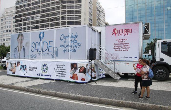 O Ministério da Saúde informou que o Brasil possui 2.922 mamógrafos disponíveis (Foto: Tomaz Silva/Agência Brasil)