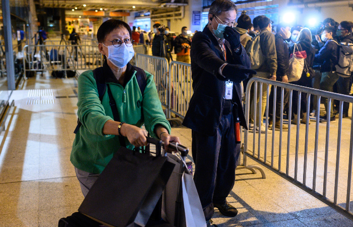 Ao todo, 902 pessoas morreram de coronavírus na China. (Foto: Philip Fong/AFP.)