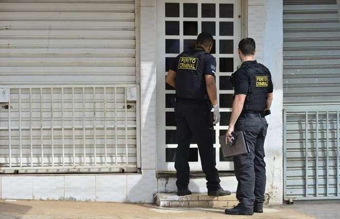 Polícia investiga um possível envolvimento do pai no crime (Foto: Ed Alves/CB/D.A Press)