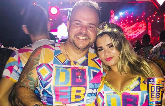 Raphael Cordeiro Lopes era companheiro de Leandra Gennifer há três anos. (Foto: Reprodução/Instagram.)