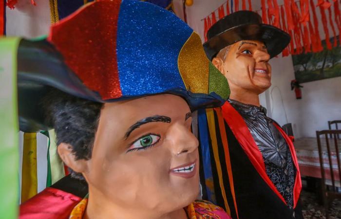 O Sem Preguinha é neto do Birita, outro boneco gigante de Olinda.