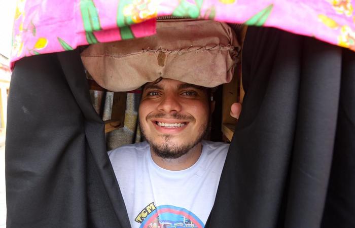 Jorge Henrique Leal Duarte Lima de Araújo, pai do Sem Preguinha Lindo e fundador do Birita.  (Foto: Leandro Santana/Esp.DP)