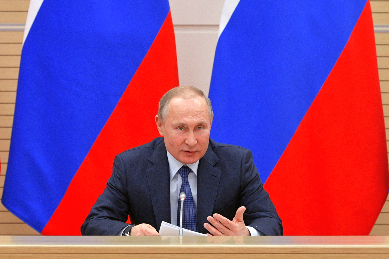 (Foto: Alexey DRUZHININ / SPUTNIK / AFP)
