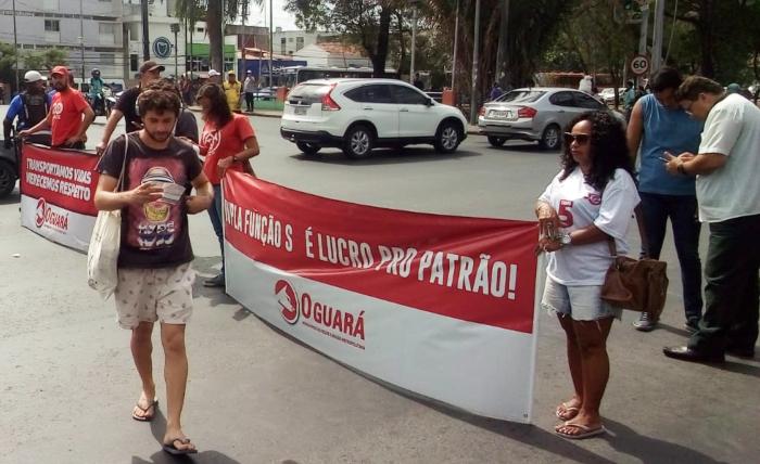 Classe descarta parar no carnaval, mas quer melhorias. (Foto: Cortesia.)