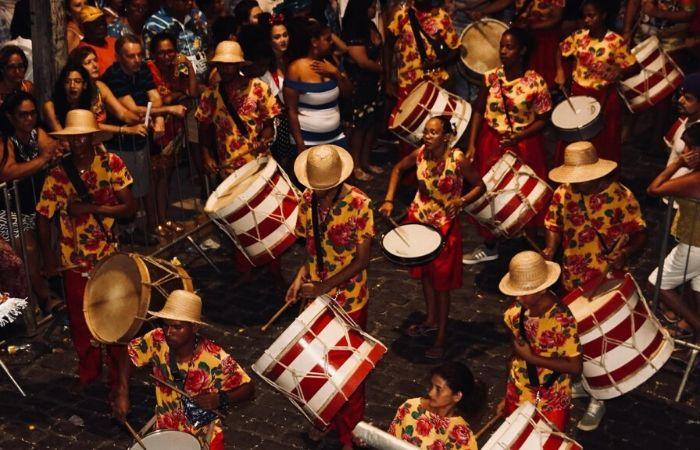 Pátio do Terço recebe por mais um ano maior celebração de cultura afro do Carnaval de Recife (Tarciso Augusto/Esp. DP Foto)