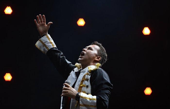 O músico exaltou a apresentação de Musa na abertura do carnaval. (Foto: Leandro de Santana/DP Foto)