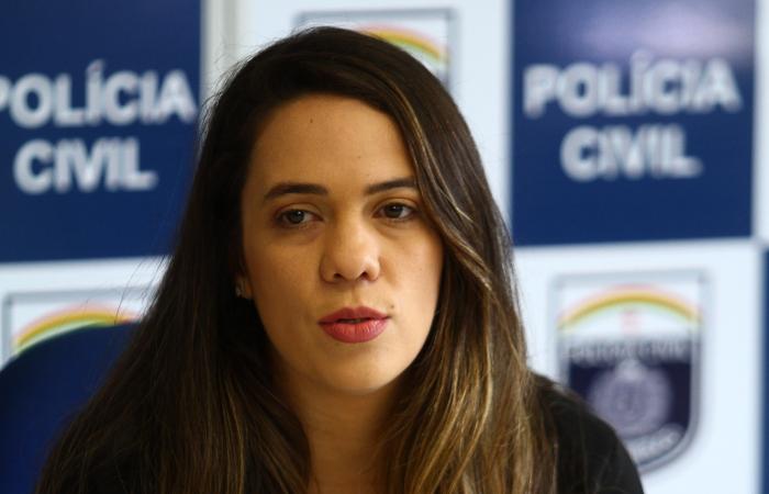 Delegada Bruna Falcão. (Foto: Peu Ricardo/DP.)