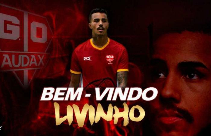 Livinho não será mais jogador do Audax. (Foto:Divulgação/Audax)