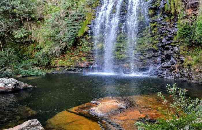 Cachoeira da Farofa no Parque Nacional da Serra do Cipó (Foto: Wikimedia Commons/Divulgação)
