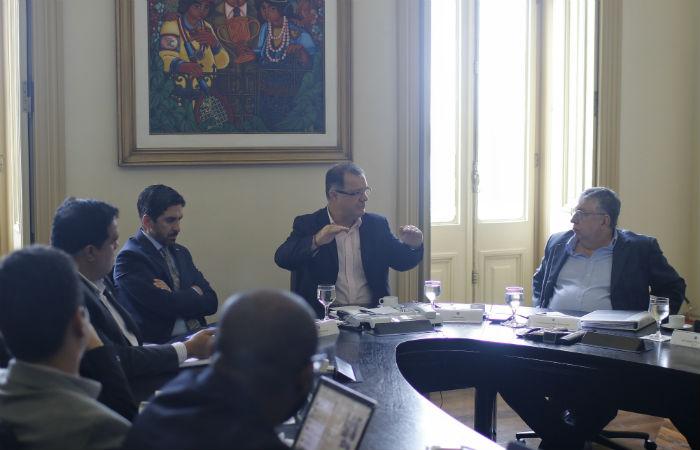 Carlos Gabas liderou reunião do Consórcio no Recife (Foto: Marlon Diego / SDEC)