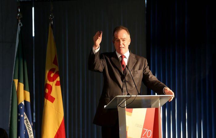 Renato Casagrande, governador do Espírito Santo. (Foto: Wilson Dias/Agência Brasil)