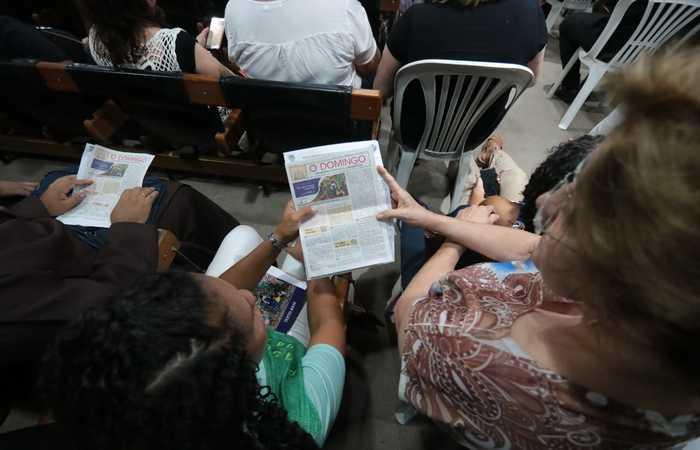 A recomendação é assistir às celebrações pela TV da rede católica em cada cidade (Foto: Tarciso Augusto/Esp.DP)