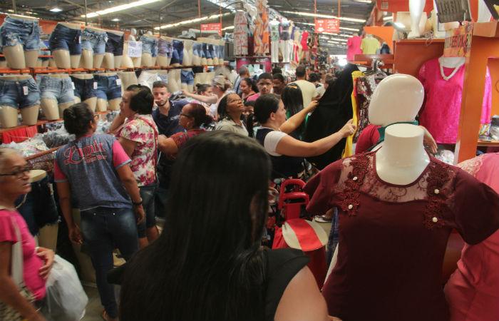 Moda Center Santa Cruz suspendeu as feiras por tempo indeterminado (Divulgação)