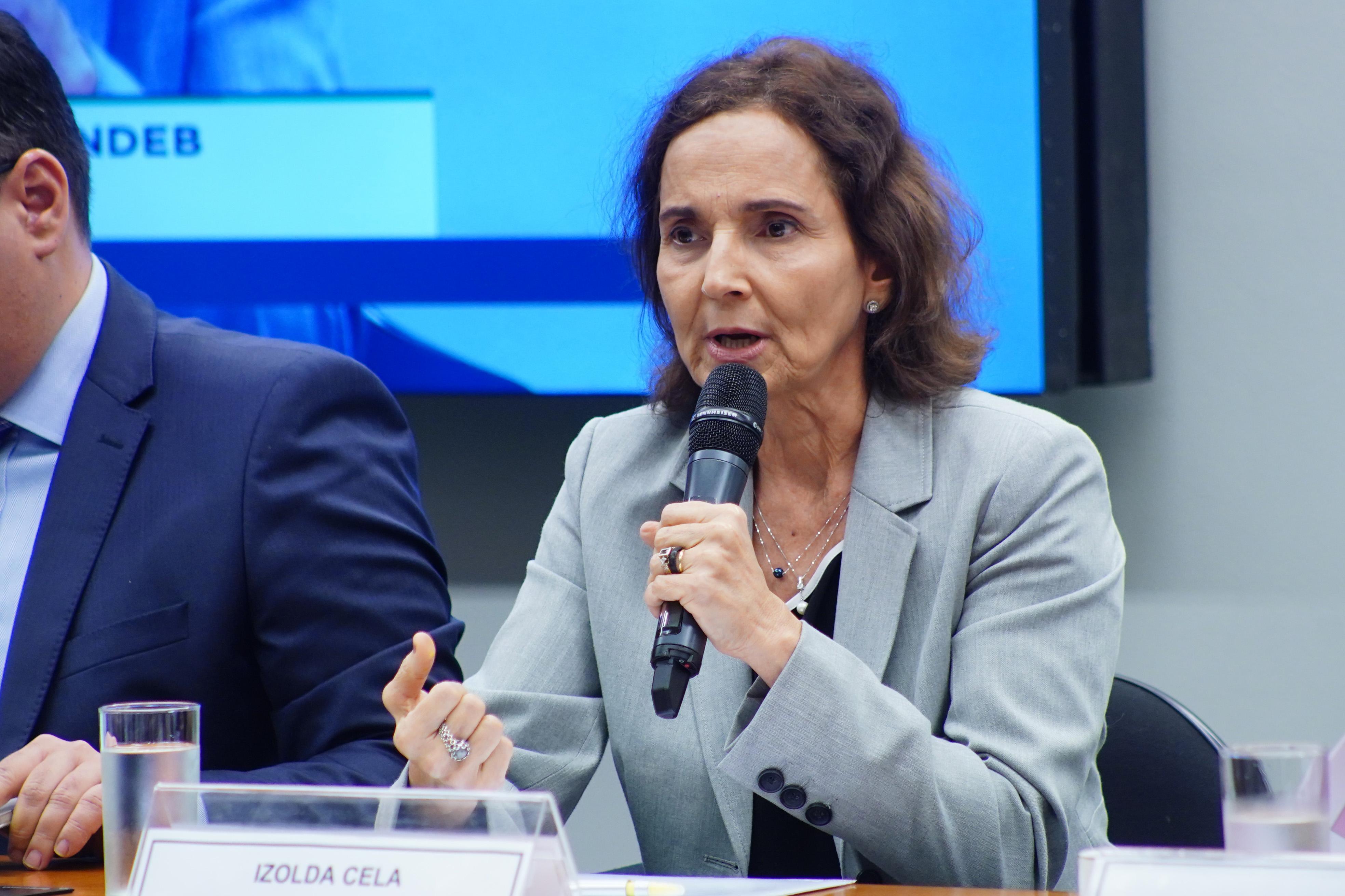 Vice-governadora do Ceará, Izolda Cela (Foto: Reprodução)