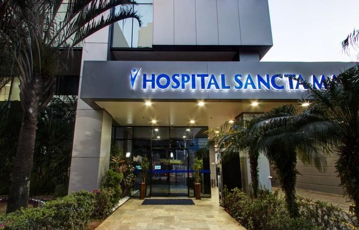 A Prevent Senior anunciou que isolou uma das unidades do hospital Sancta Maggiore (Foto: Divulgação)