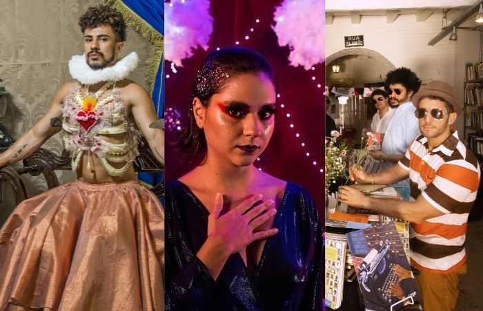 Ciel Santos, Guma e Academia da Berlinda são algumas atrações do Recife. (Foto: Diego Cruz, Hannah Carvalho e Bruna Valença/Divulgação)