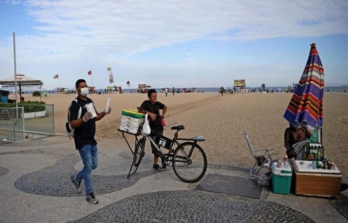 O Rio de Janeiro é o segundo estado do Brasil com maior número de casos da Covid-19 (Foto: Carl de Souza/AFP )