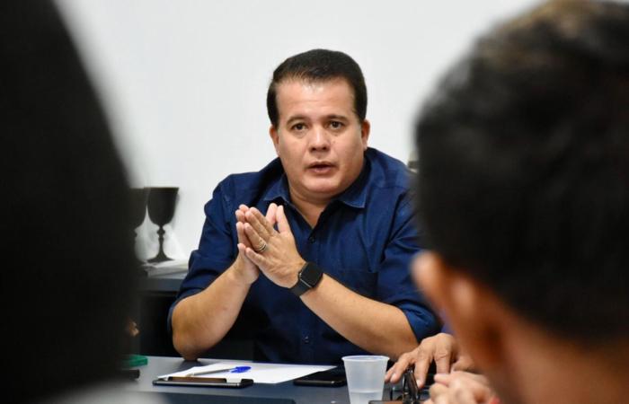 (Edson Vieira fez o anúncio nesta quinta-feira. Foto: Ascom/Prefeitura)