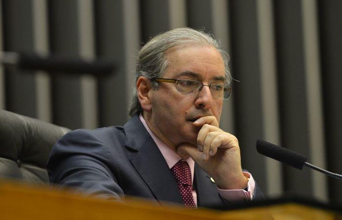 A Justiça permitiu que o ex-presidente da Câmara Eduardo Cunha, por exemplo, cumpra a pena em casa (Foto: Antonio Cruz/Agência Brasil)