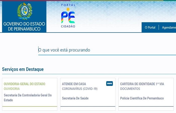 Por meio do site www.pecidadao.pe.gov.br ou do aplicativo PE Cidadão a população pernambucana poderá obter diversas informações, inclusive orientações a respeito do coronavírus