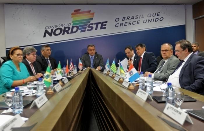 (Os governadores do Nordeste reagem mais uma vez contra Bolsonaro. Foto: Governo da Bahia/Divulgação )