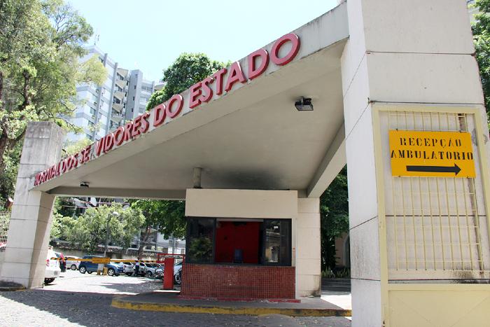 Morte registrada no boletim desta segunda aconteceu no Hospital dos Servidores do Estado. (Foto: Controladoria-Geral do Estado/Divulgação)