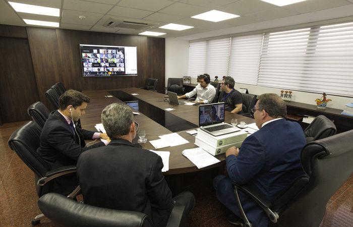 Reunião Plenária Virtual (Nando Chiappetta/Alepe)