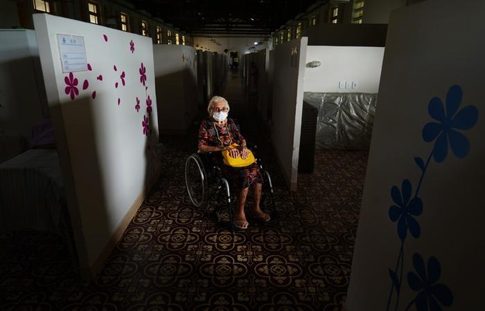 Tereza está comovida com as mortes em todo o mundo e afastada das sobrinhas. (Foto: Peu Ricardo/DP)