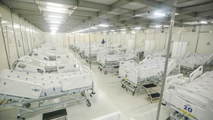 Atualmente, Pernambuco tem 49% dos leitos hospitalares ocupados. (Foto: Andréa Rêgo Barros/PCR/Divulgação)