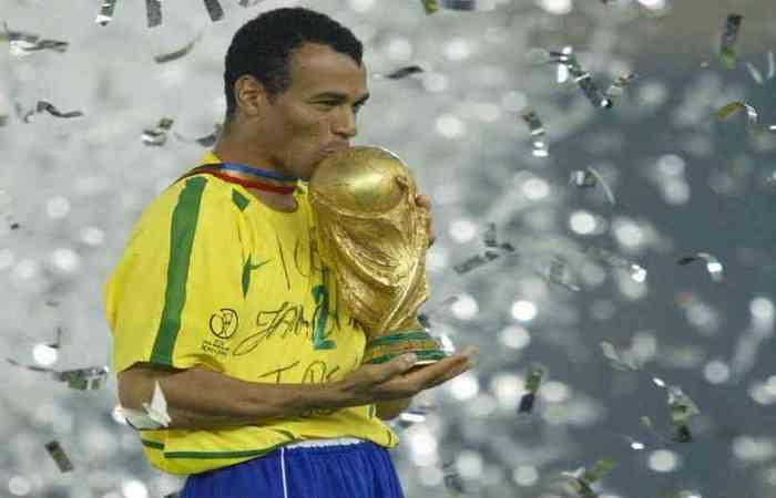Foto: Pedro Ugarte/AFP Photo (O Brasil venceu a partida por 2 a 0 e conquistou o penta)