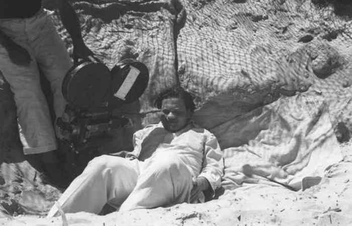 Orson Welles, diretor do clássico Cidadão Kane (1941), no Brasil. (Foto: Chico Albuquerque/Divulgação)