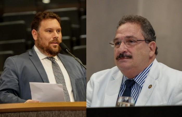 Iniciativa foi dos deputados Wanderson Florêncio e do presidente da Alepe, Eriberto Medeiros (Foto: Divulgação / Alepe)