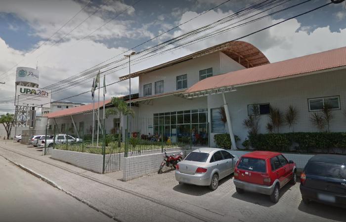 O adolescente morreu em menos de 24 horas após ser internado na UPA de São Lourenço da Mata (Foto: Reprodução/Google Street View.)